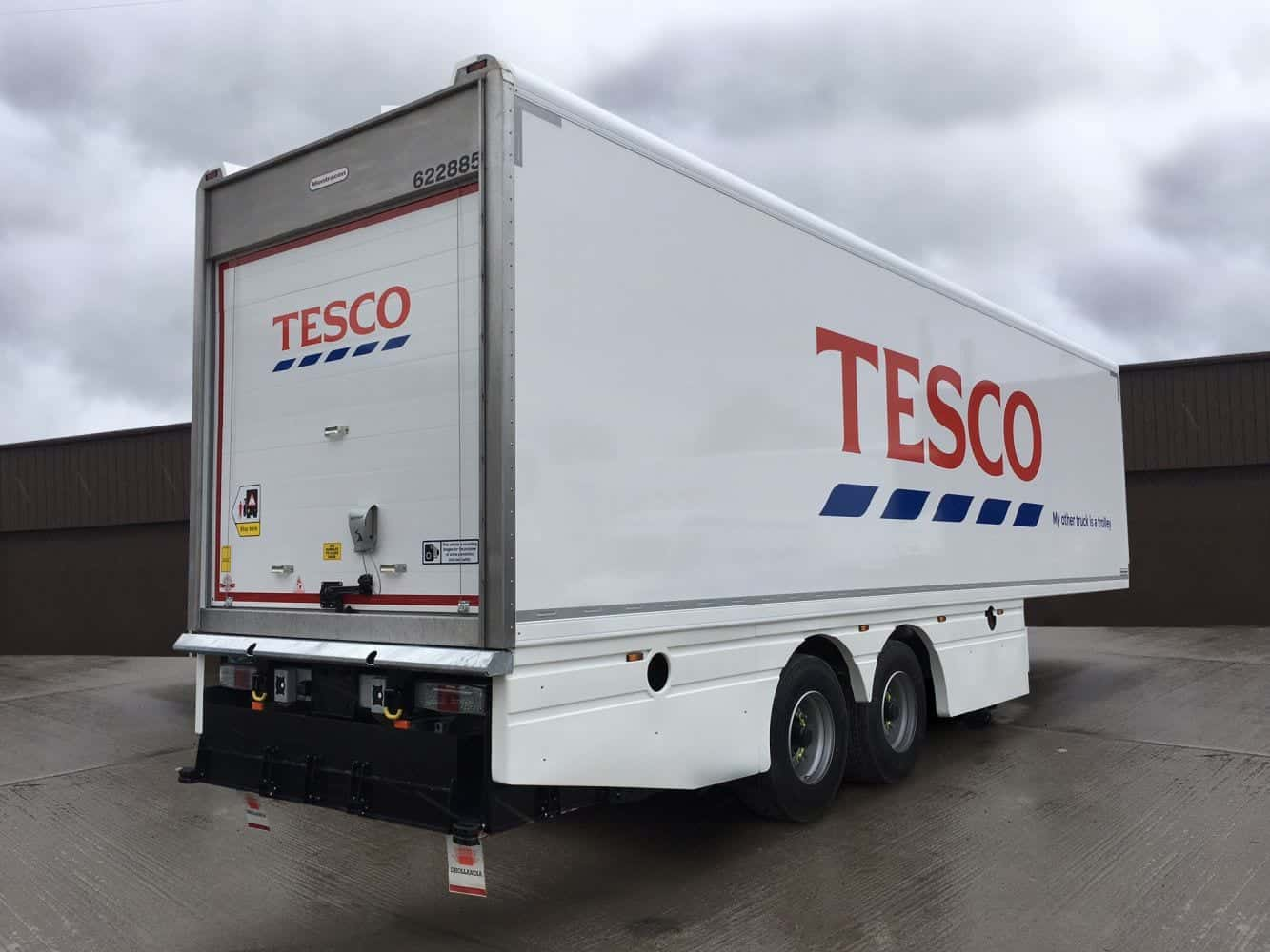 Tesco Refrigerated Trailers 1