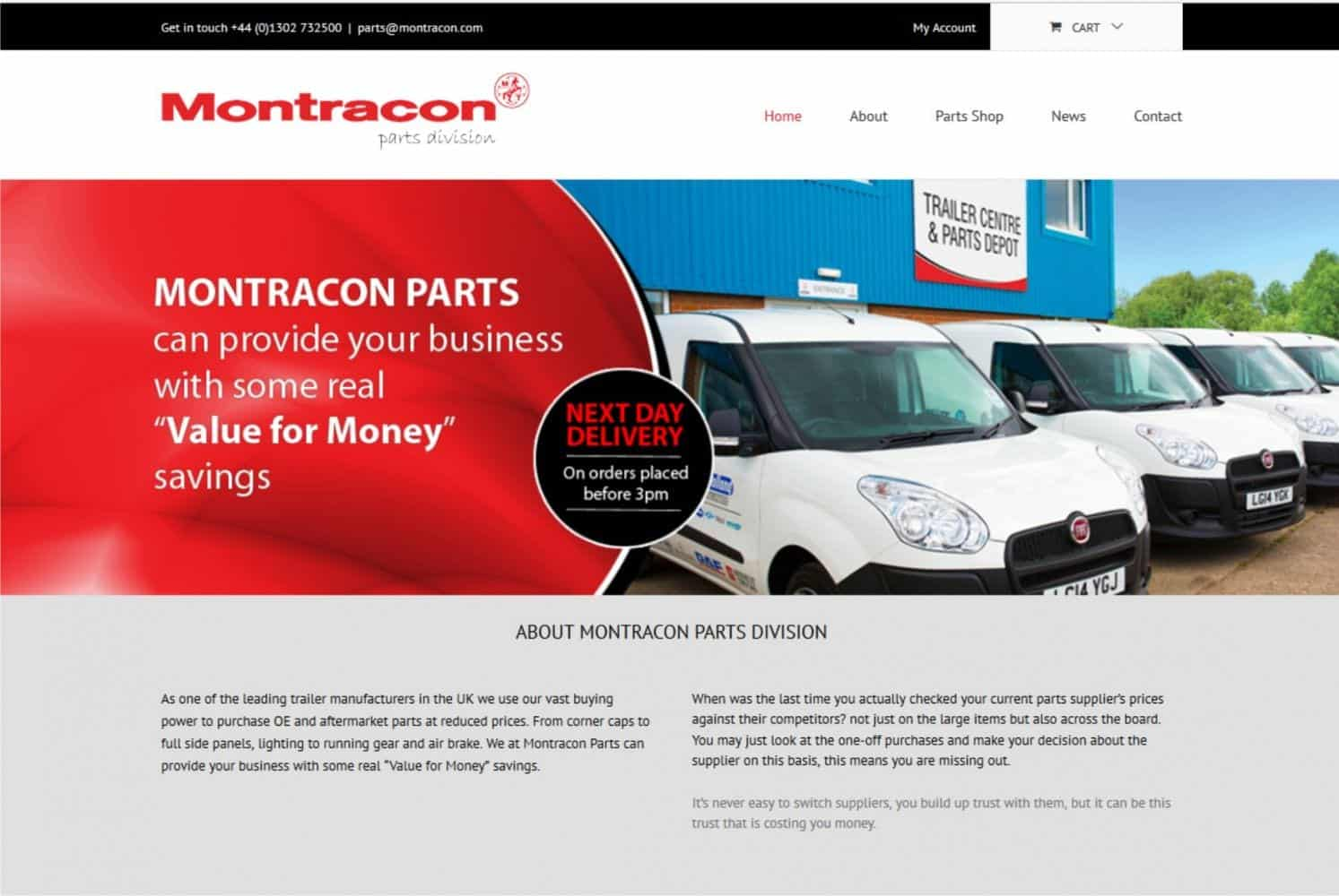 Montracon parts website