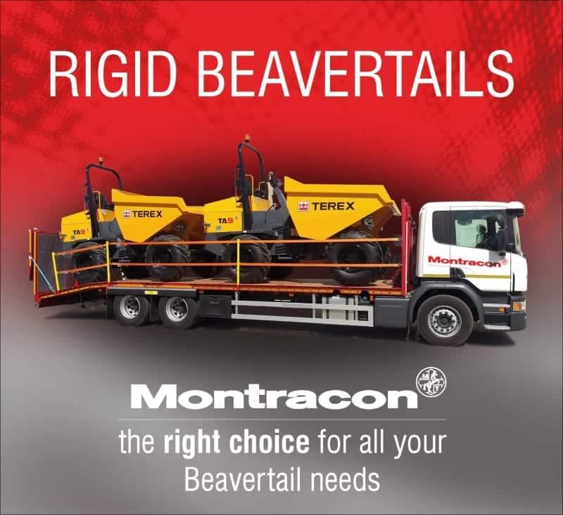 Montracon's rigid Beavertails