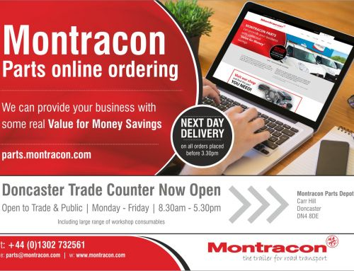 Montracon's Trailer Parts Website is Making a Big Difference to Sales