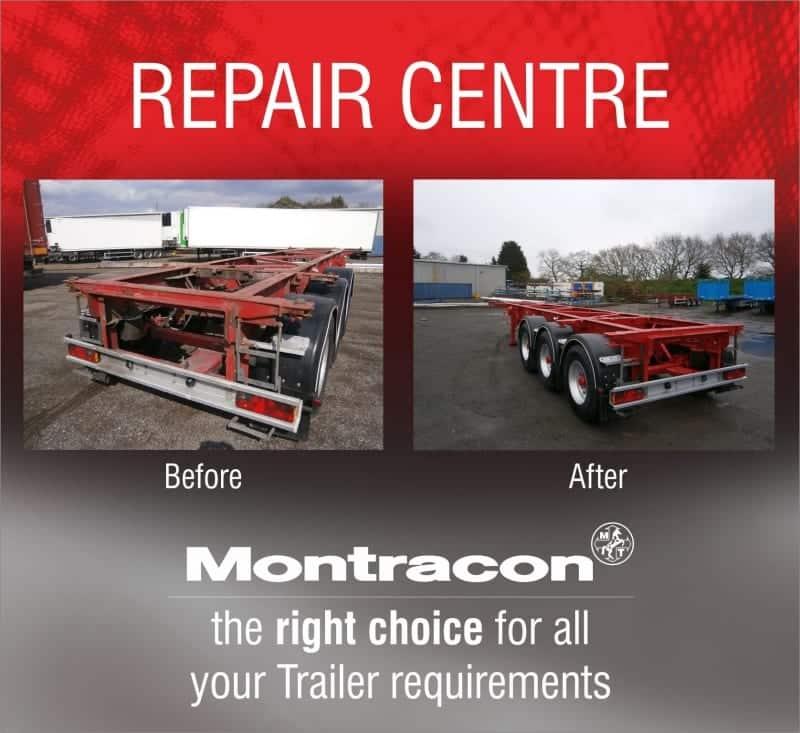 Montracon's repair centre