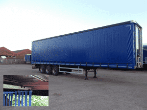 Montracon Curtainsider with CV Roller