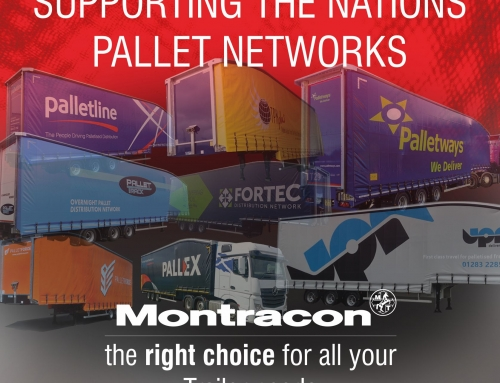 Montracon Continue to Support all Pallet Networks with it's Curtainsider Range