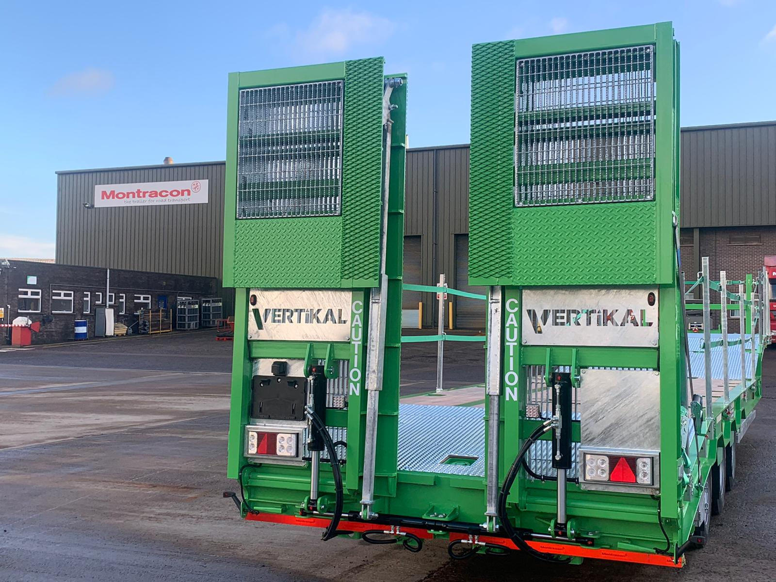 Vertikal UK takes delivery of its Montracon MT45 Access Spec