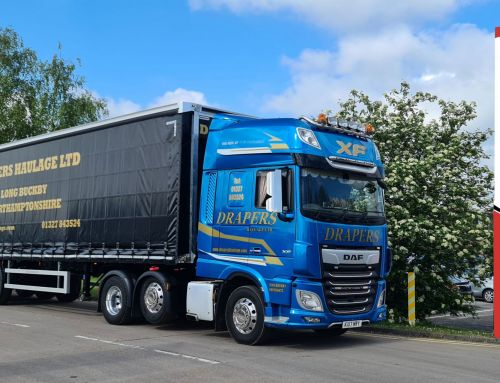 Drapers Haulage continues to expand its fleet with Montracon